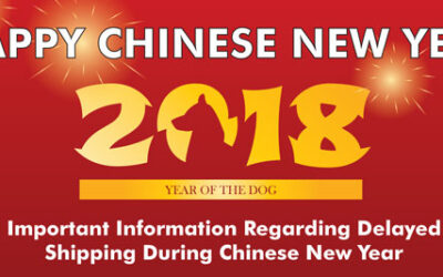 Important Information Regarding Delayed Shipping During Chinese New Year